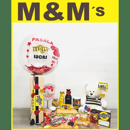 Desayuno Sorpresa Regalo CHOCOLATES M&M - Image 1
