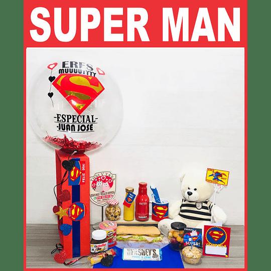 Desayuno Sorpresa Regalo Eres mi Superman - Image 1