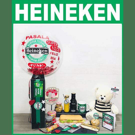 Desayuno Sorpresa Para HOMBRE Regalo Cerveza Heineken - Image 1