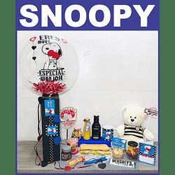 Desayuno Sorpresa PARA NOVIOS Regalo Snoopy