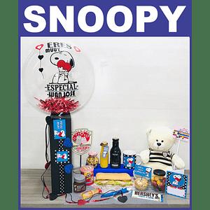 Desayuno Sorpresa PARA NOVIOS Temático Regalo Snoopy