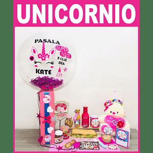 Desayuno Sorpresa para Niñas Unicornio Feliz