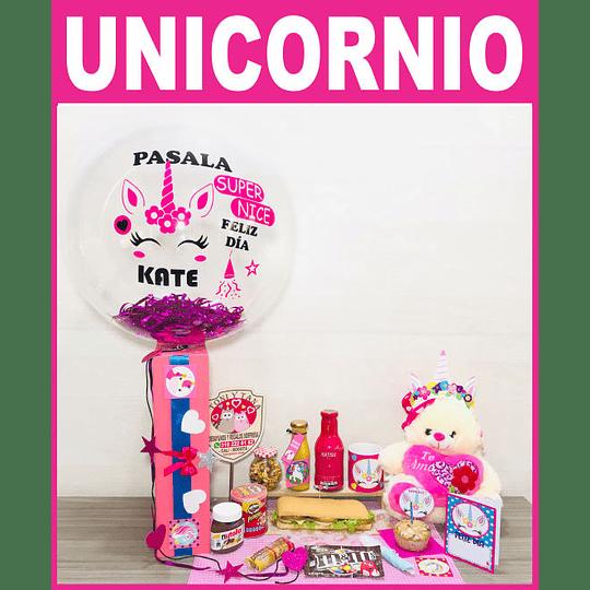 Desayuno Sorpresa para Niñas Unicornio Feliz - Image 1