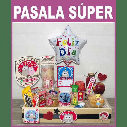 Desayuno Regalo Sorpresa PÁSALA SUPER Clásico - Image 1