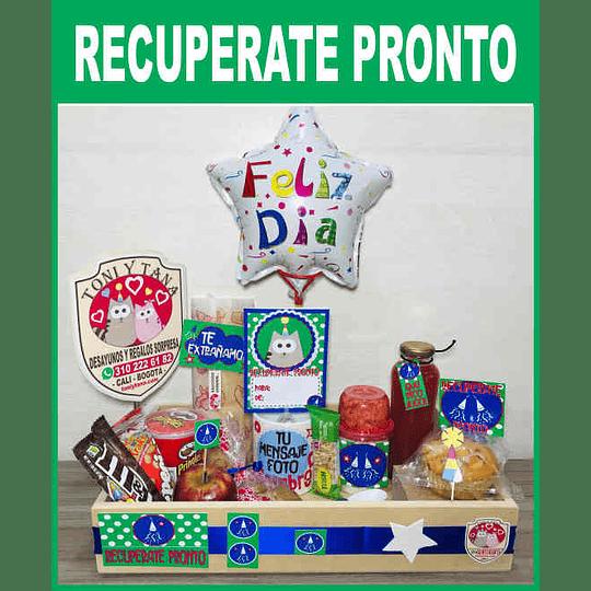 Desayuno Regalo Sorpresa RECUPERATE PRONTO Clásico - Image 1