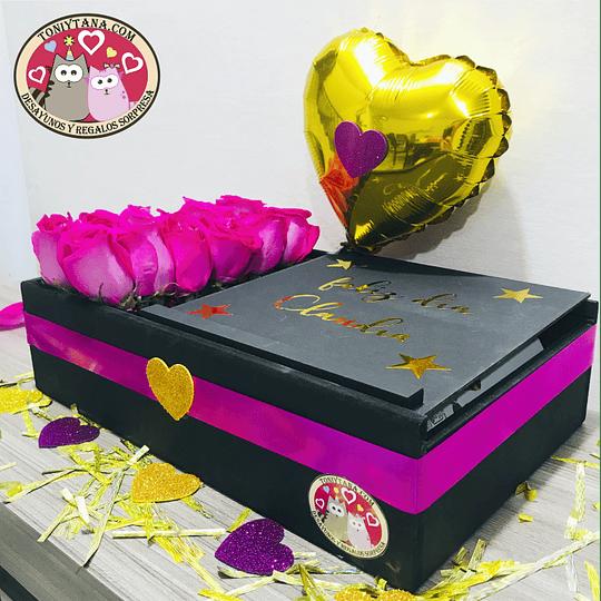 En Amor y Amistad Regala Flores y Chocolates - Image 3