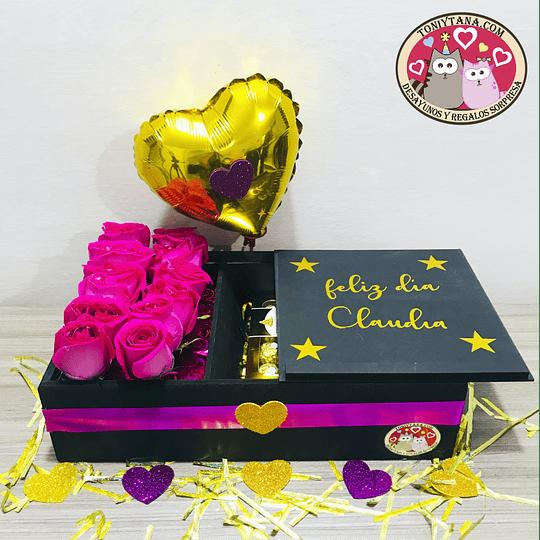 En Amor y Amistad Regala Flores y Chocolates - Image 4