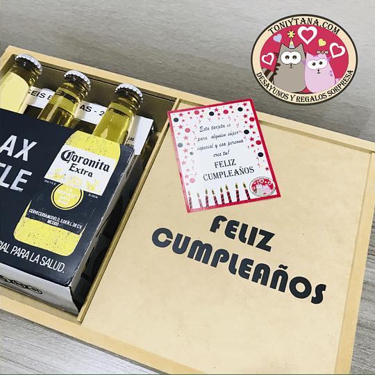 Regalo Sorpresa con Cerveza Corona Para HOMBRES - Image 4