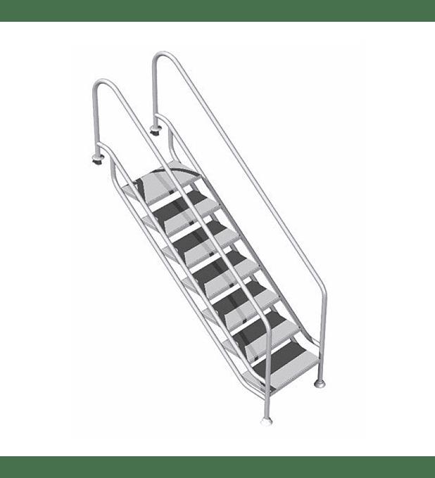 Escada de apoio no fundo