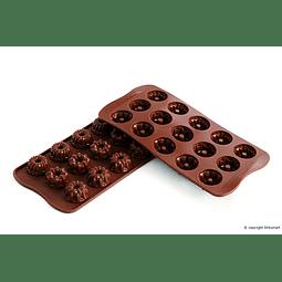 MOLDE SILICONA CHOCOLATE FANTASÍA SILIKOMART