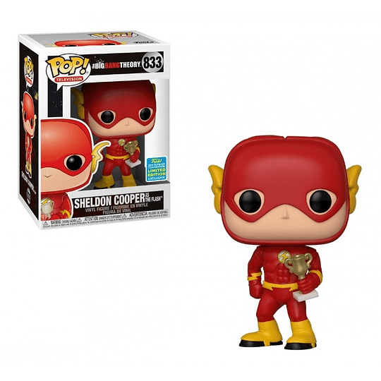 FUNKO POP! Television - The Big Bang Theory: Sheldon Cooper as The Flash Limited Edition