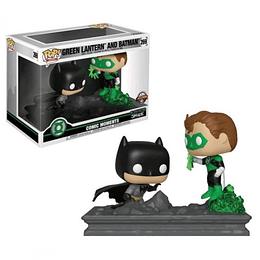FUNKO POP DELUXE! Heroes - Green Lantern and Batman