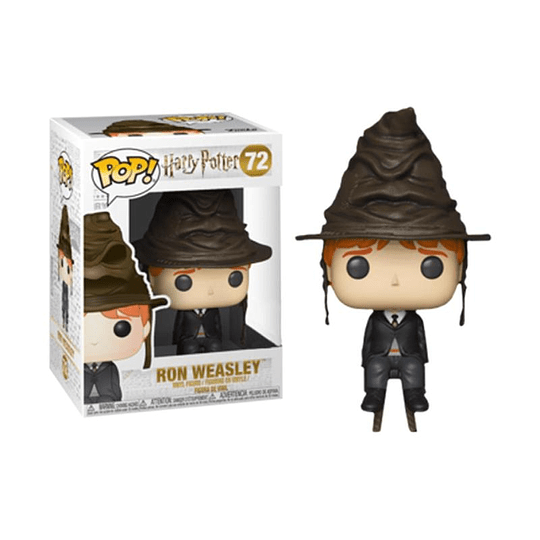 FUNKO POP! Movies - Harry Potter: Ron Weasley with Hat