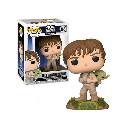 FUNKO POP! Star Wars - Luke Skywalker & Yoda