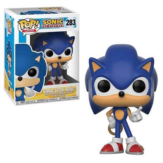 FUNKO POP! Games - Sonic with Ring
