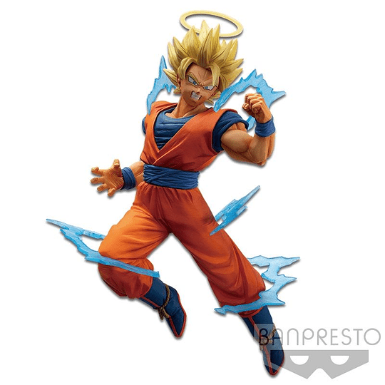 Banpresto - Dragon Ball Z Dokkan Battle Collab: Super Saiyan 2 Son Goku