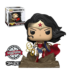 FUNKO POP DELUXE! Heroes - Wonder Woman Special Edition