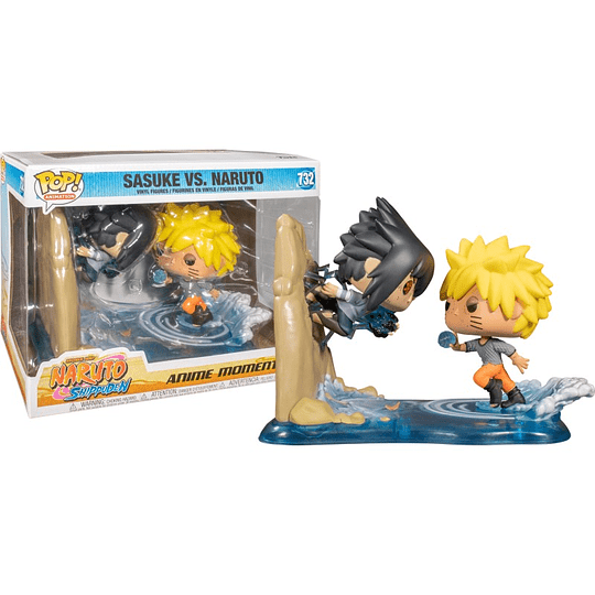 FUNKO POP DELUXE! Animation - Sasuke vs. Naruto Special Edition