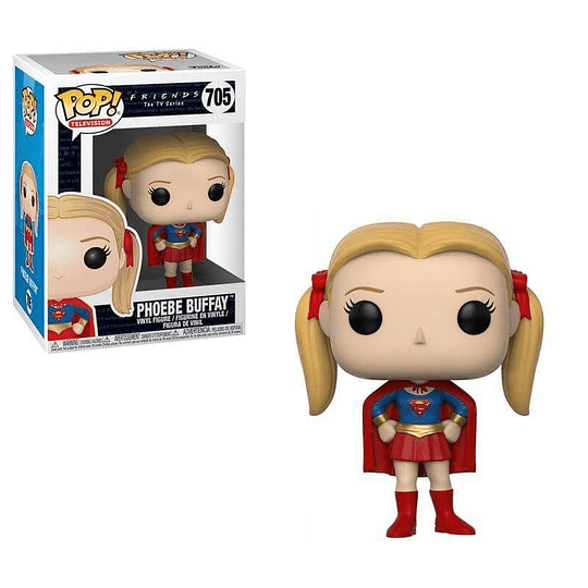 FUNKO POP! Television - Friends: Phoebe Buffay as Supergirl