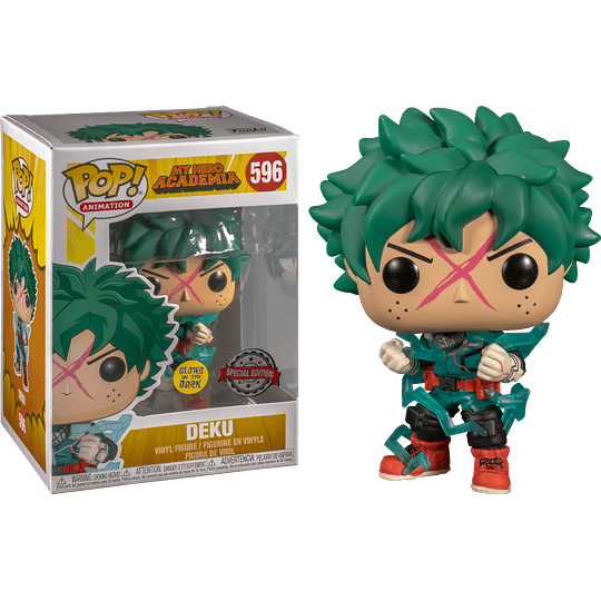 FUNKO POP! Animation - My Hero Academia: Deku Glows in the Dark