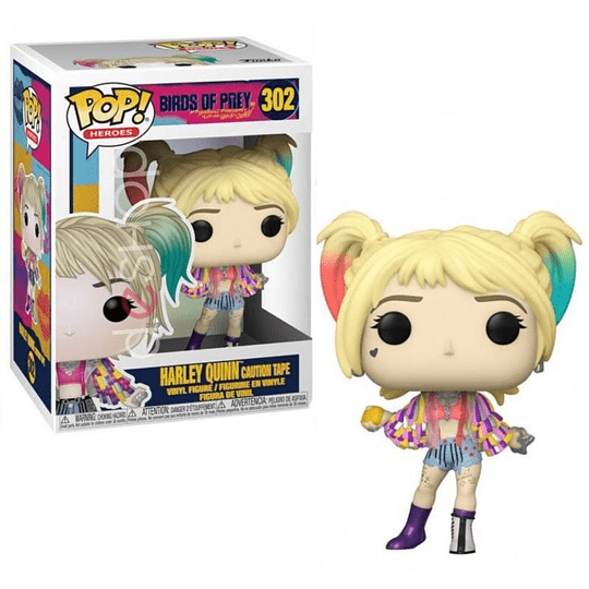 FUNKO POP! Heroes - Birds of Prey: Harley Quinn Caution Tape