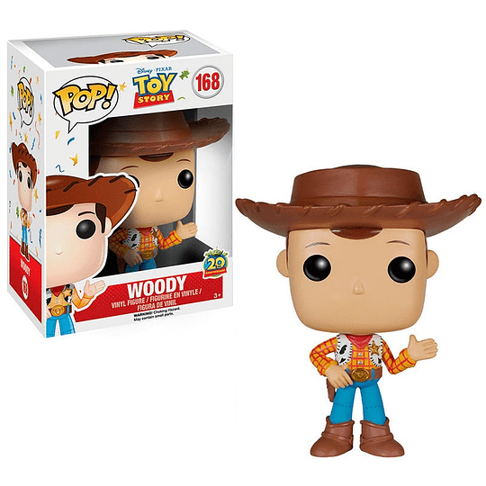 FUNKO POP! Disney Pixar - Toy Story: Woody 20th Anniversary