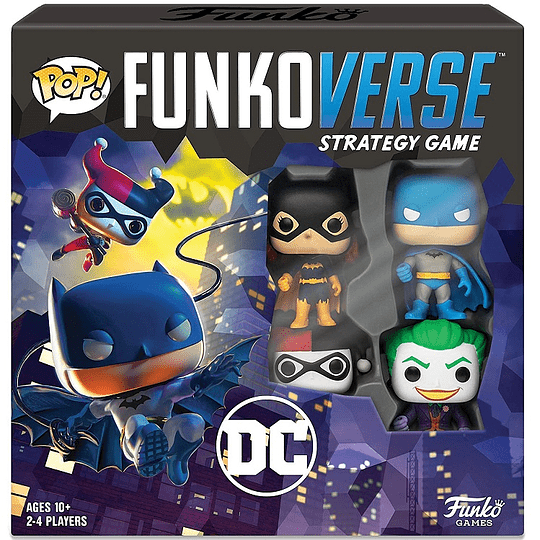 FUNKO POP! Funkoverse - DC Juego de estrategia Español