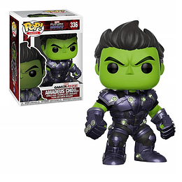 FUNKO POP! Games - Marvel Future Fight: Amadeus Cho as Hulk