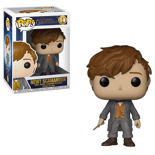 FUNKO POP! Movies - The Crimes of Grindelwald: Newt Scamander