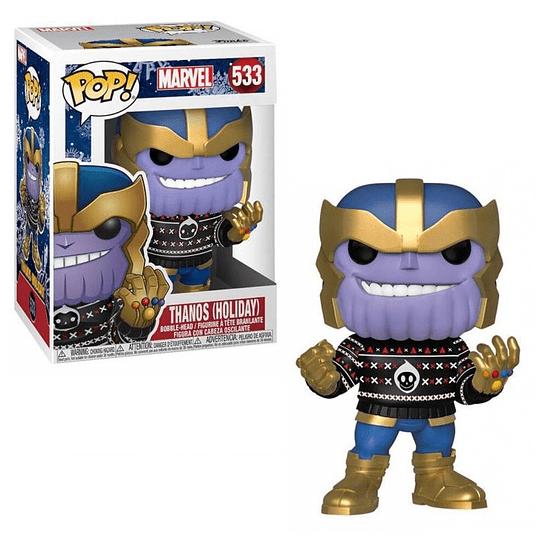 FUNKO POP! Marvel - Thanos Holiday