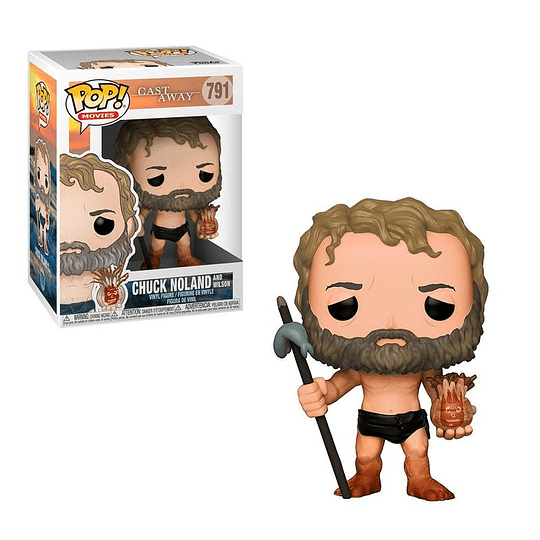 FUNKO POP! Movies - Cast Away: Chuck Noland and Wilson