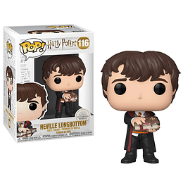FUNKO POP! Movies - Harry Potter: Neville Longbottom with Mounster Book