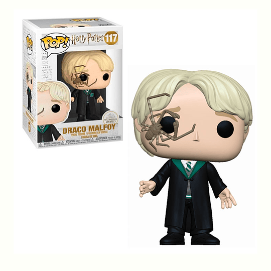 FUNKO POP! Movies - Harry Potter: Draco Malfoy with Spider