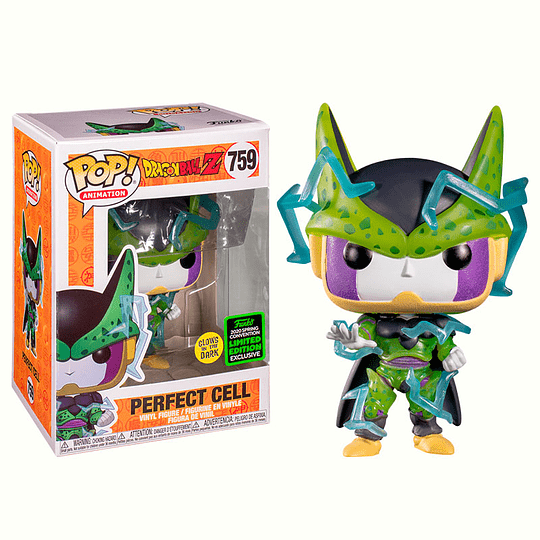 FUNKO POP! Animation - Dragon Ball Z: Perfect Cell Glows in the Dark