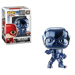FUNKO POP! Heroes - DC Justice League: The Flash Blue Chrome