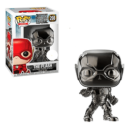 FUNKO POP! Heroes - DC Justice League: The Flash Chrome