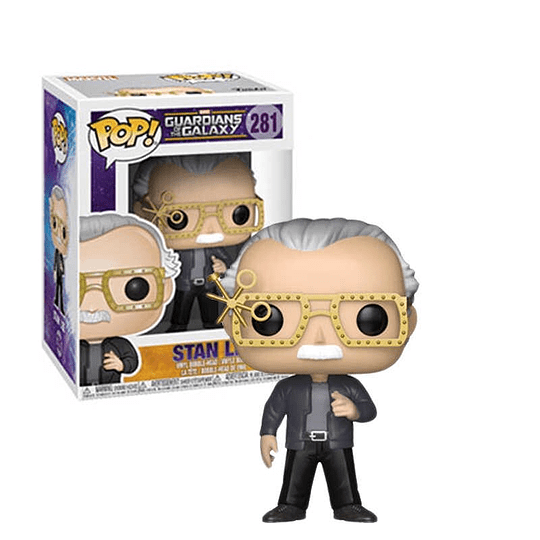 FUNKO POP! Marvel - Guardians of the Galaxy: Stan Lee with Glasses Special Edition
