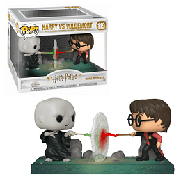FUNKO POP DELUXE! Movies - Harry Potter: Harry Potter VS Voldemort