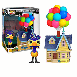 FUNKO POP DELUXE! Town - Disney: Kevin with Up House