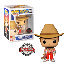 Funko Pop! Back To The Future: Marty Mcfly Cowboy Special Edition