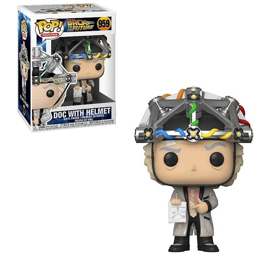FUNKO POP! Movies - Back to the Future: Doc with Helmet