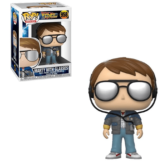 FUNKO POP! Movies - Back to the Future: Marty with Glasses