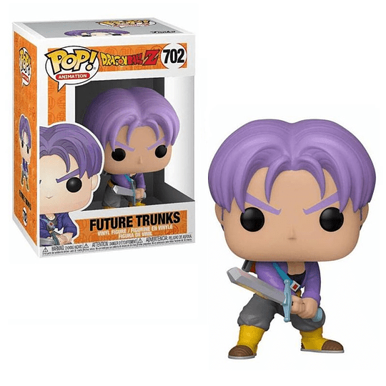 FUNKO POP! Animation - Dragon Ball Z: Future Trunks with Sword
