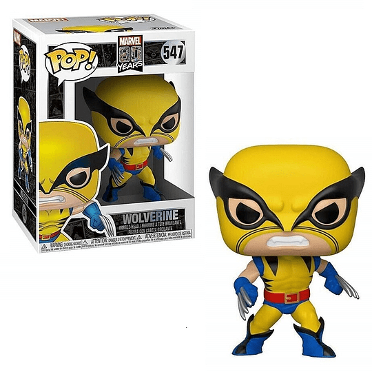 Funko Pop! Marvel - 80 Years: Wolverine