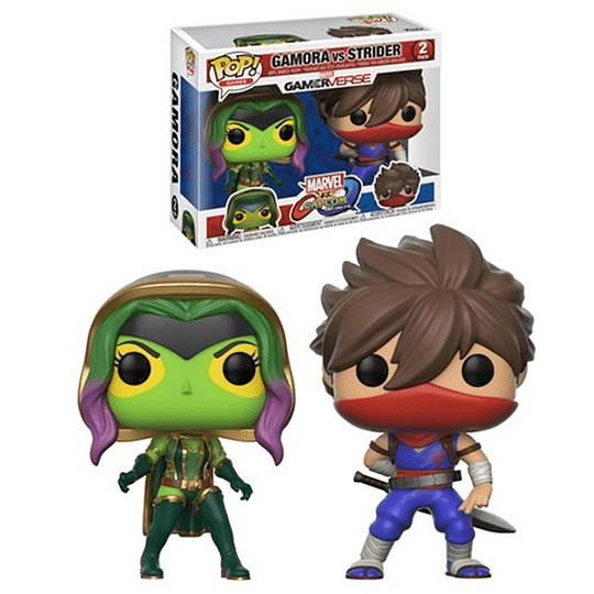 FUNKO POP! Games - Marvel vs Capcom: Gamora vs Strider