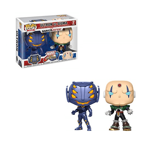 FUNKO POP! Games - Marvel vs Capcom: Ultron vs Sigma