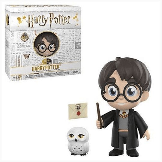 5 STAR! Harry Potter - Harry with Hedwig and Magic Wand