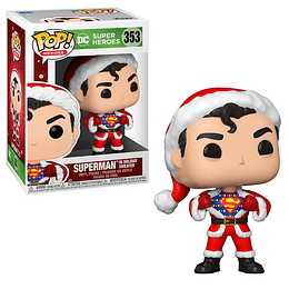 FUNKO POP! Heroes - DC Super Heroes: Superman in Holiday Sweater