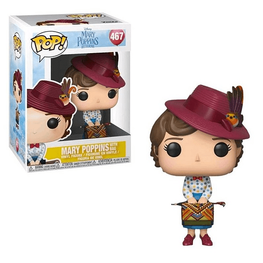 FUNKO POP! Disney - Mary Poppins with Bag