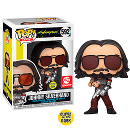 FUNKO POP! Games - Cyberpunk: Johnny Silverhand Glows in the Dark Xclusive